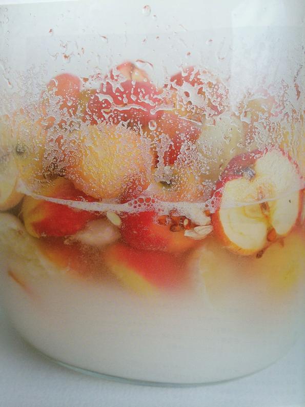 りんごとレモンと玄米の酵素シロップ