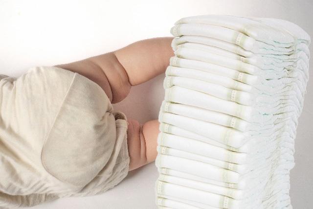 紙おむつの漂白剤が赤ちゃんの肌を刺激。危険性は?