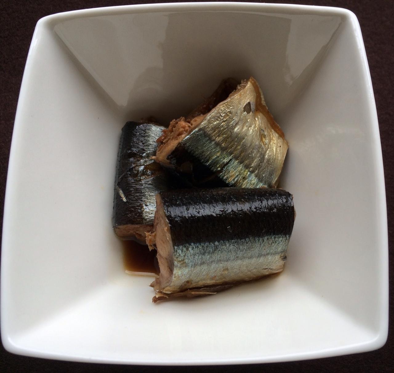 秋刀魚煮物