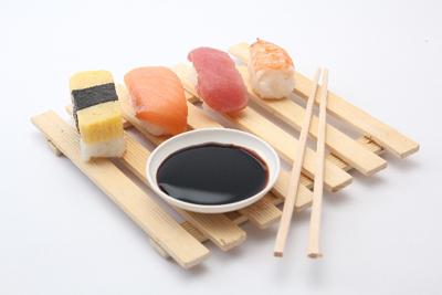醤油 寿司