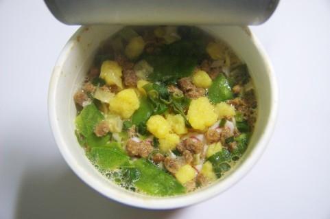 インスタントラーメンの粉末スープの原材料について