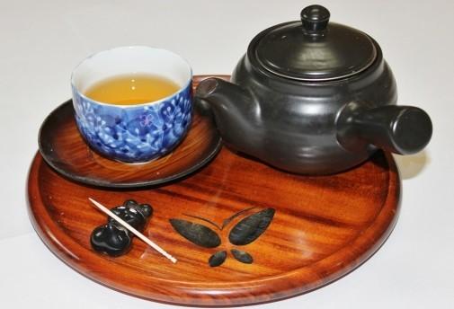 急須とお茶