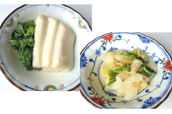 冬野菜で簡単おいしい!かぶらの漬物、白菜の漬物レシピ