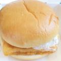 白身魚のハンバーガー