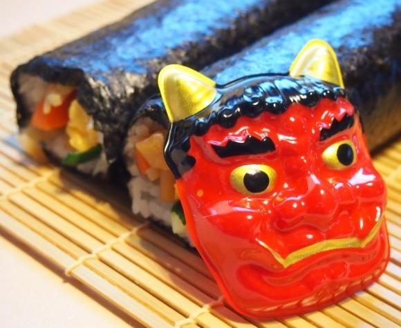 節分の恵方巻。具材が多いほど巻き寿司の添加物は増えていく