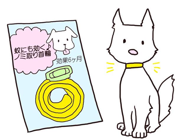 ペット用ノミ取り首輪の副作用は?愛犬の健康を守るために