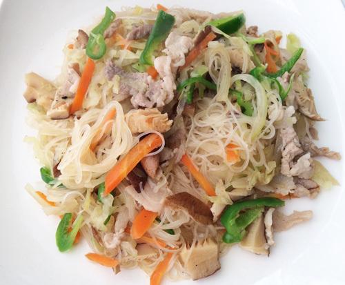 味付けビーフンは添加物のない、米だけでできた安全なものを選びたい。