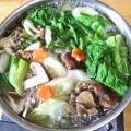 鶏ミンチ鍋で忘年会 (4)
