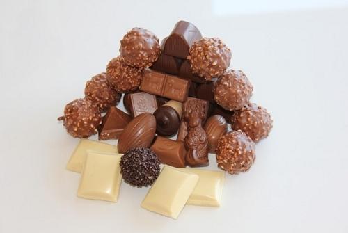 チョコ 盛り合わせ