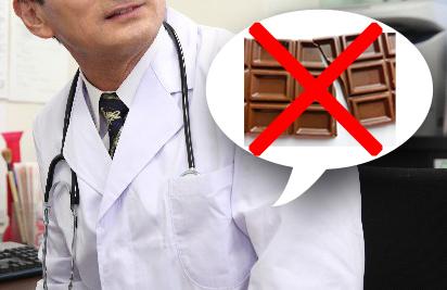 チョコを食べてはいけない
