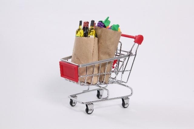 スーパーで安心食材のお買い物♪大変だけど楽しい主婦の毎日