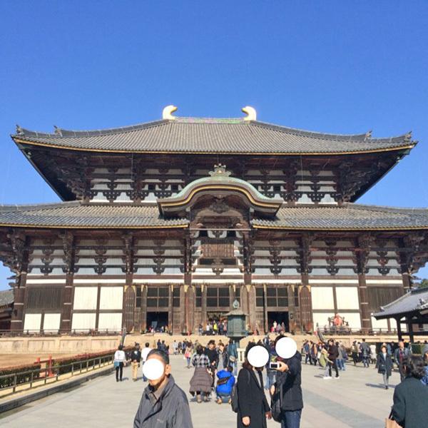 奈良、東大寺