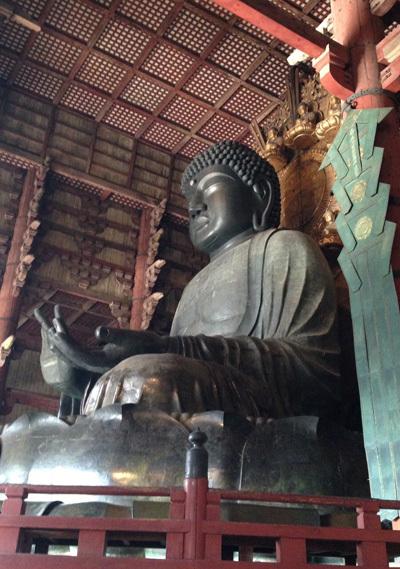 奈良、東大寺の大仏