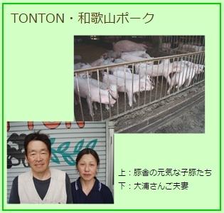 TONTON・和歌山ポーク