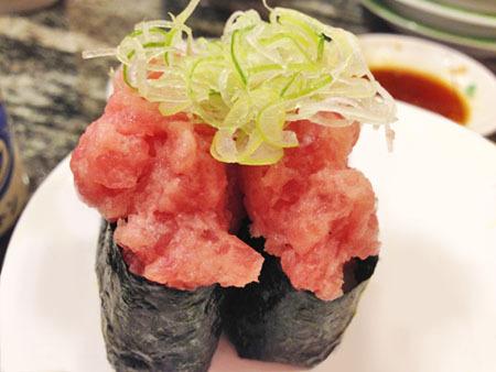 ネギトロ 回転寿司