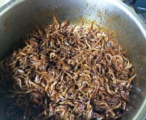 いかなごのくぎ煮 手作りレシピ (6)