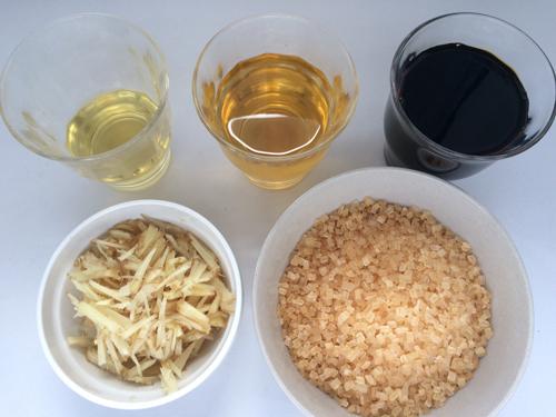 いかなごのくぎ煮 手作りレシピ (1)