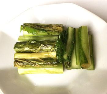 手作り 野沢菜漬け レシピ (10)