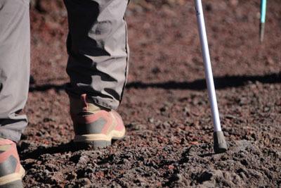 登山用靴下に抗菌加工。アウトドア用品は健康的なものを選びたい